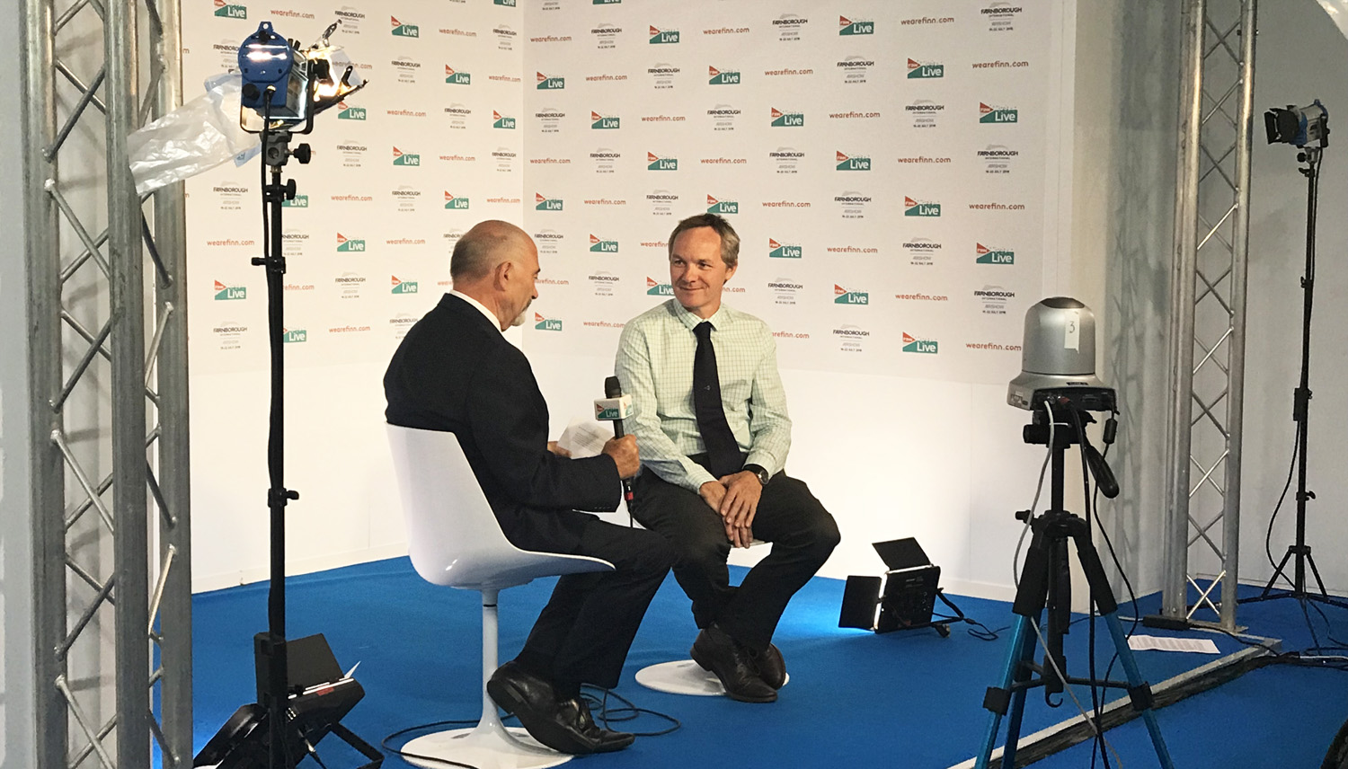 Interview with Brian Mercer, Global Director Tube Products SMP, at Farnborough Airshow