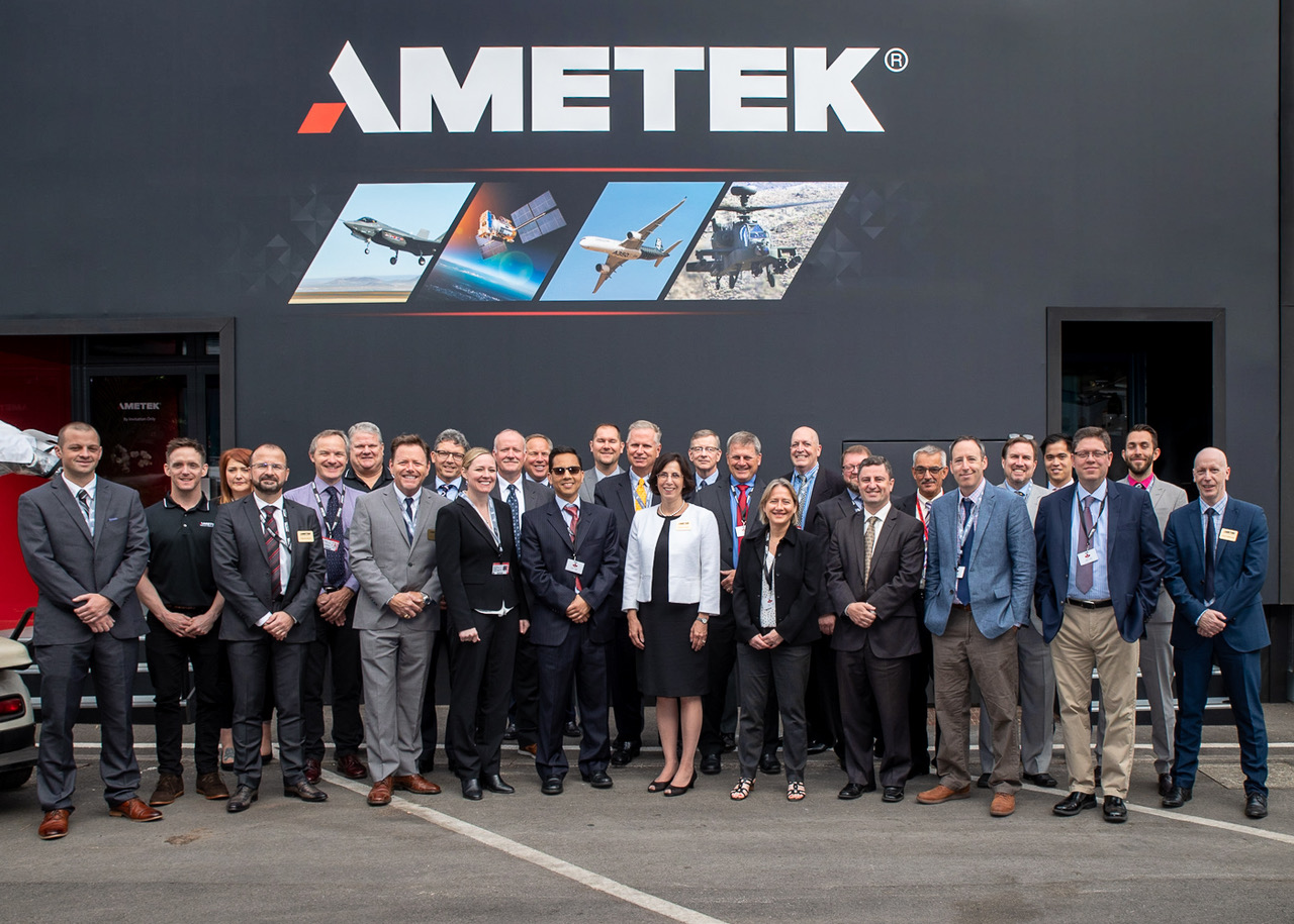 AMETEK Specialty Metal Products at the Farnborough International Airshow 2018