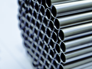 Thin wall condenser tubes in seamless, welded and welded redrawn forms finds use in thermal and nuclear power stations