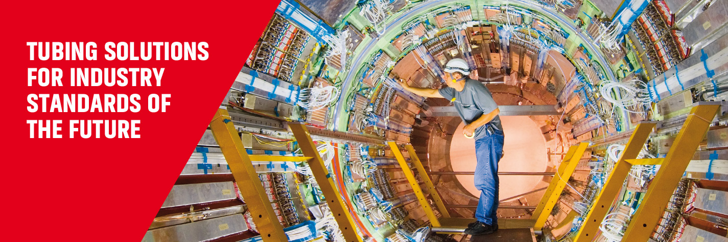 Fine Tubes supplied cooling tubes for the Large Hadron Collider (LHC)